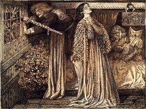 Sir Launcelot in the Queen's Chamber