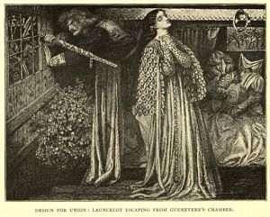 Sir Launcelot in the Queen's                         Chamber