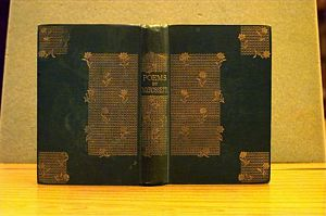 Binding Design: Poems (1870) [1]