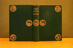 Binding Design: Songs Before Sunrise (1871) [1]