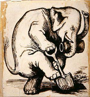 Elephant Burying Jar