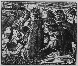 King Arthur and the Weeping Queens