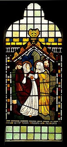The Visitation (Stained Glass)