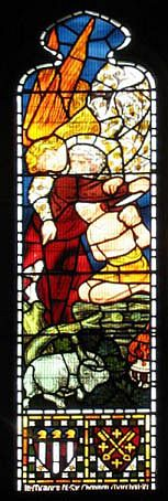 Abraham's Sacrifice (Stained Glass)