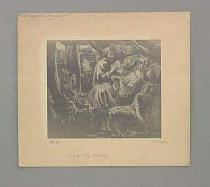 The Death of Lady Macbeth [print]