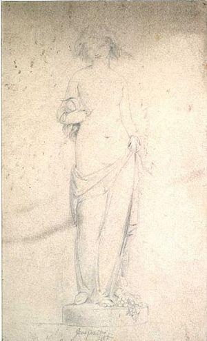 Allegorical Figure of Generosity