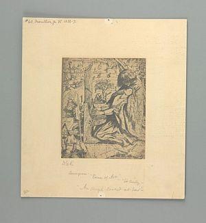 St. Cecilia [print]