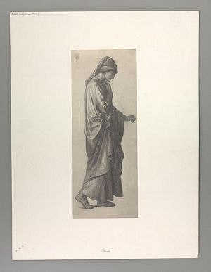 Dante's Dream at the Time of the Death of Beatrice (study for Dante) [print]