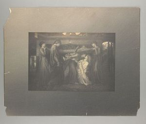 Dante's Dream at the Time of the Death of Beatrice (large replica) [print]