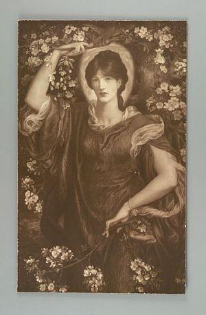 A Vision of Fiametta [print]