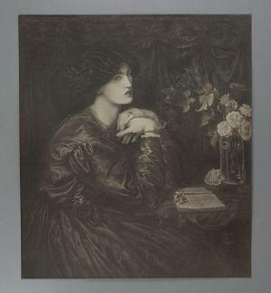 Mrs. William Morris [print]