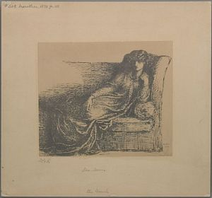 Mrs. William Morris [print]
