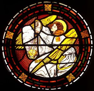 Censing Angel [2]: Stained Glass