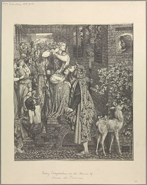 Mary Magdalene at the Door of Simon the Pharisee [print]