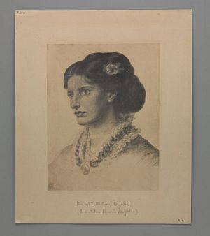 Mrs. William Michael Rossetti [print]