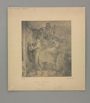 Orpheus and Eurydice [print]