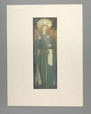 The Damsel of the Sanct Grael [print]
