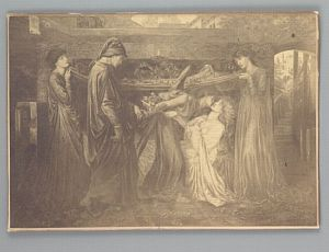 Dante's Dream at the Time of the Death of Beatrice [print]