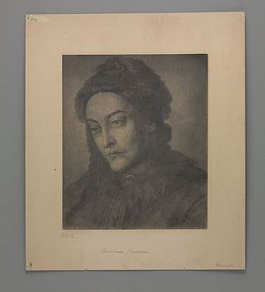 Christina Rossetti [print]