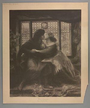 Paolo and Francesca da Rimini [print]