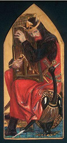 The Seed of David (King David Playing Harp)