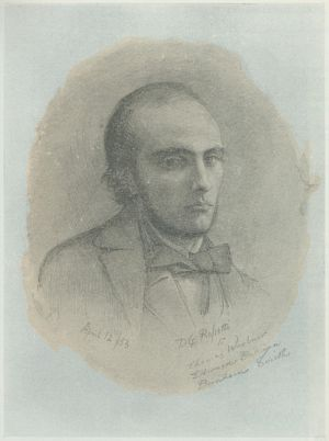 Portrait of William Michael Rossetti
