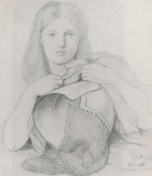 Study for My Lady Greensleeves