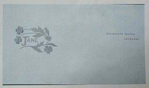 Design for Jane Morris Stationery