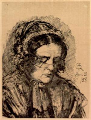Mrs. Gabriele Rossetti [print]