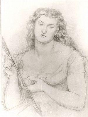 Venus Verticordia (drawing of seated Venus)